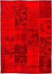 Alanis Allover vloerkleed rood